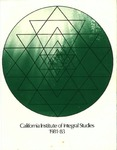 California Institute of Integral Studies -- Catalog 1981-1983 by CIIS