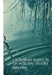 California Institute of Integral Studies -- Catalog 1986-1988 by CIIS