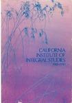 California Institute of Integral Studies -- Catalog 1988-1990