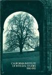 California Institute of Integral Studies -- Catalog 1990-1992 by CIIS