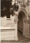 California Institute of Integral Studies -- Catalog 1994-1996 by CIIS