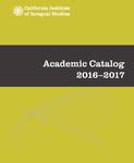California Institute of Integral Studies--Catalog 2016-2017 by CIIS