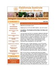 Integral Counseling Psychology Newsletter by CIIS