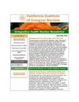 Integrative Health Studies Newsletter by CIIS